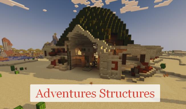Adventures Structures новые структуры