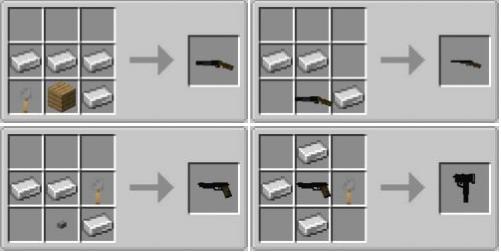 Simple Guns: Reworked простое огнестрельное оружие