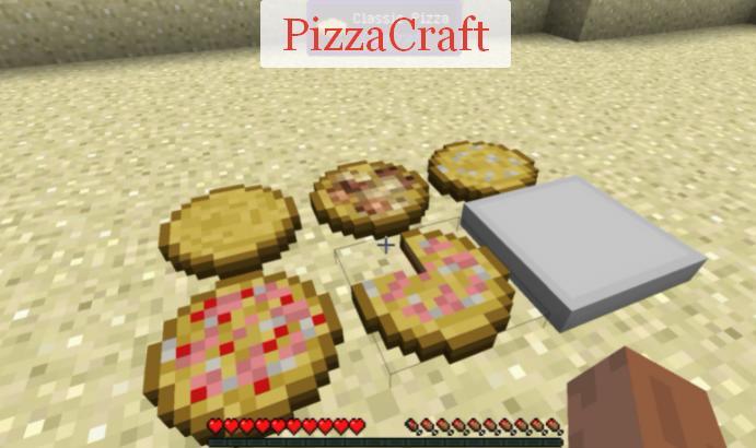 PizzaCraft приготовление пиццы