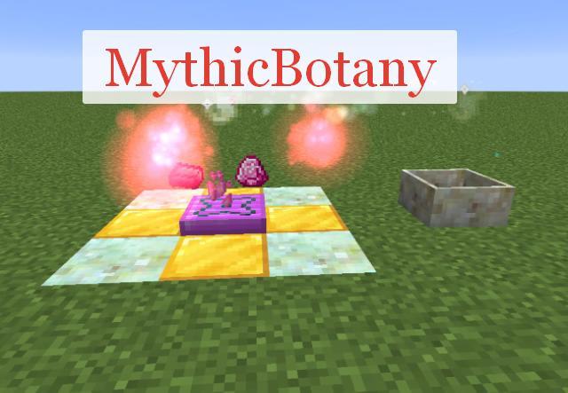Mythic Botany аддон для Botania
