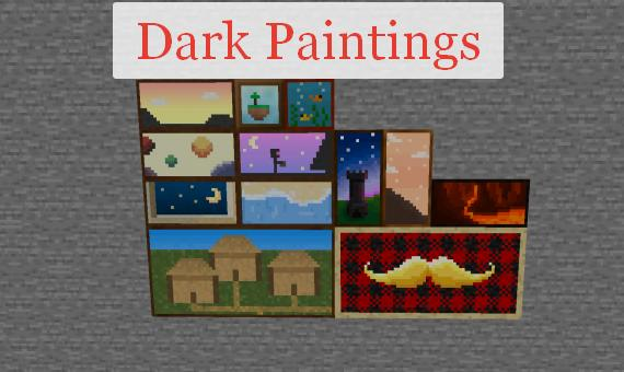 Dark Paintings новые картины