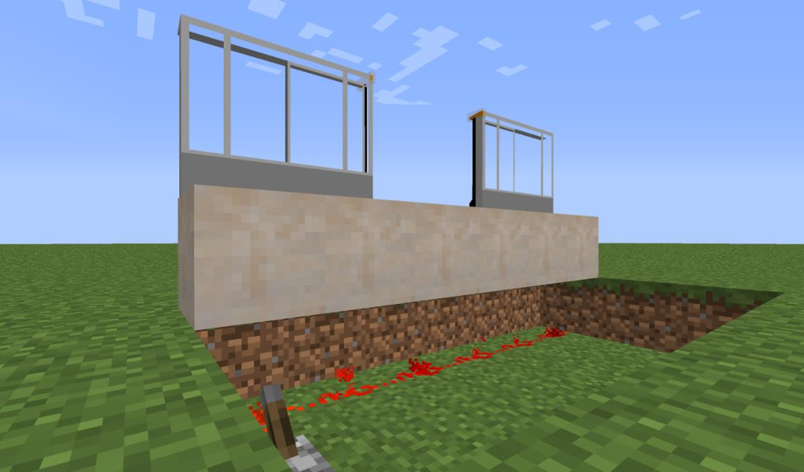 Minecraft Transit Railway поезда и станции