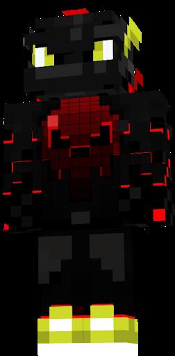 Черно красные скины
