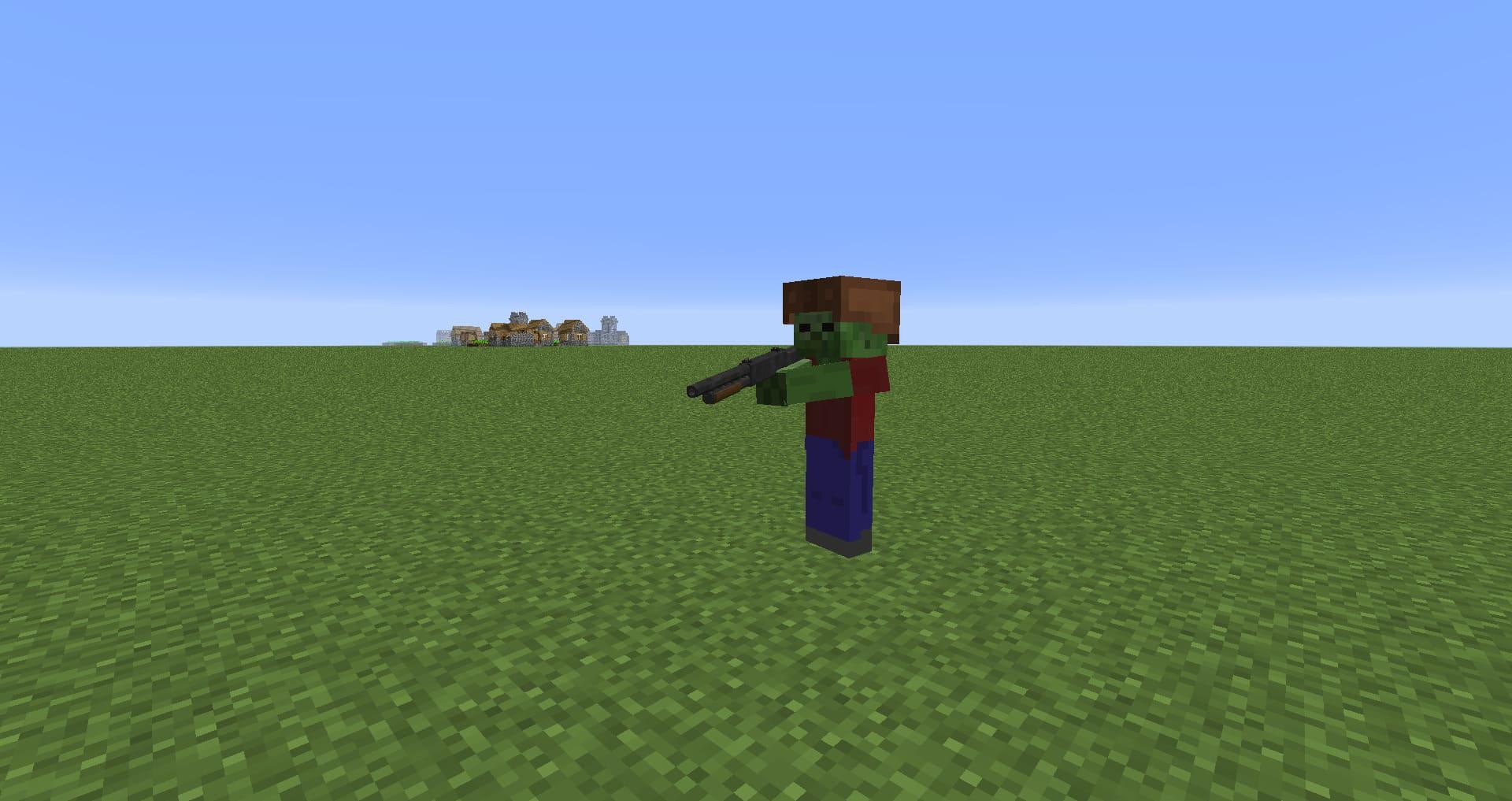 GUNS RPG огнестрельное оружие и новая система прокачки