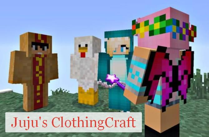 Juju's ClothingCraft много новой одежды и аксессуаров