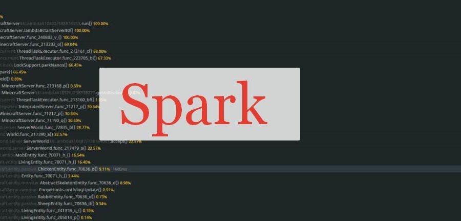 Spark поиск источника нагрузки в Майнкрафт