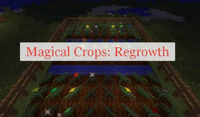Magical Crops: Regrowth магические растения