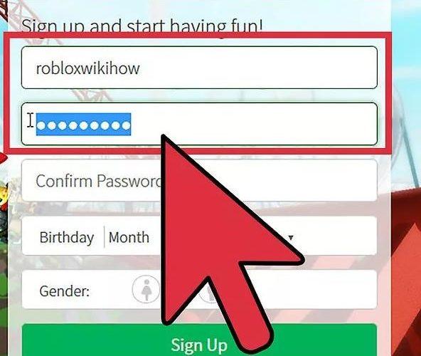 Как посмотреть пароль в Роблокс