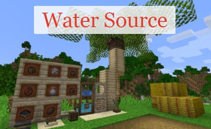 Water Source жажда и система фильтрации воды