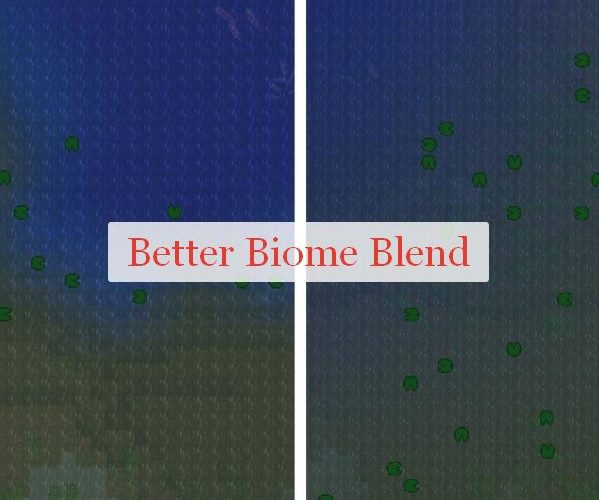 Better Biome Blend плавный переход между биомами
