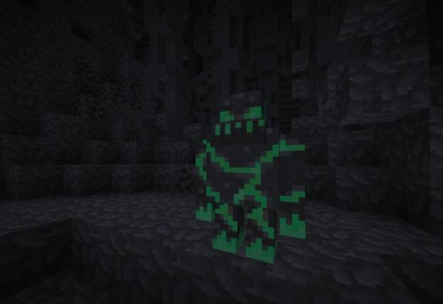 Dark Caverns пещерное измерение под бедроком