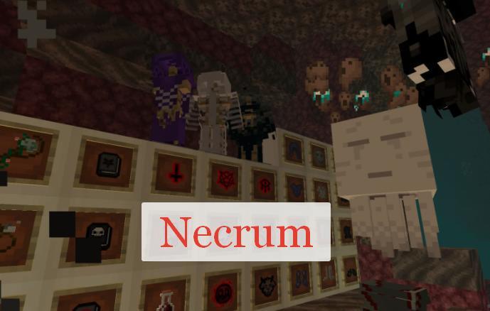 Necrum некромантия и призыв слуг