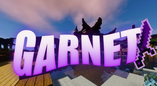 Garnet 32 x 32 ресурспак с преобладанием фиолетового