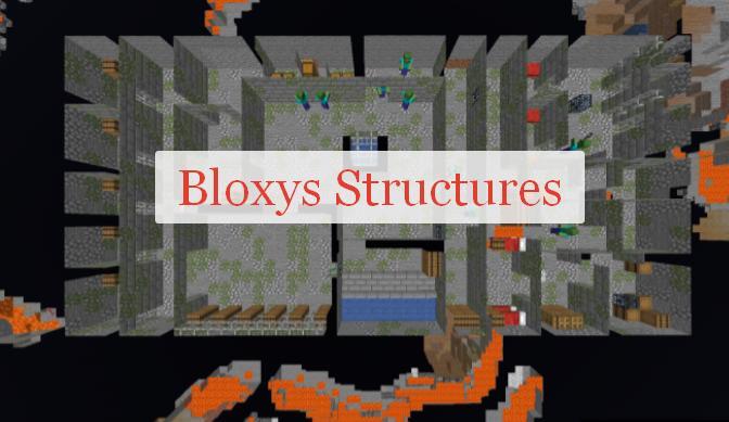 Bloxys Structures новые постройки и структуры