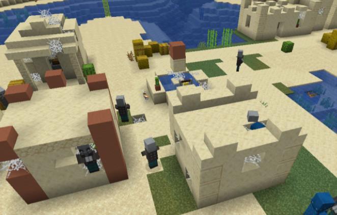 Hostile Villages захваченные деревни