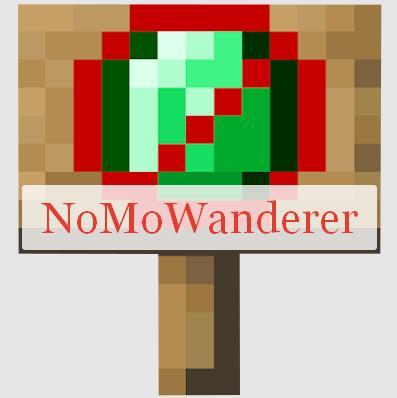NoMoWanderer запрет спавна торговцев
