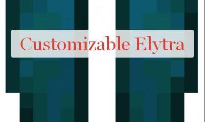 Customizable Elytra кастомизация крыльев элитр