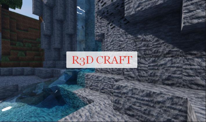 R3D CRAFT ресурс пак с реалистичными текстурами