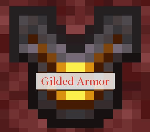 Gilded Armor позолоченная броня