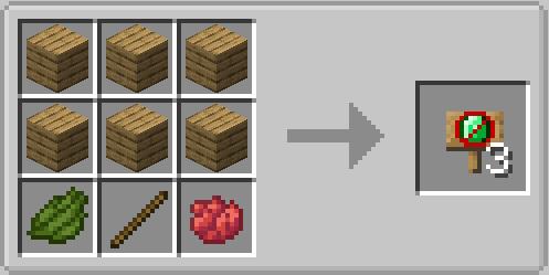 Блок, который предотвращает появление настроенных сущностей на настраиваемом расстоянии (частями) от блока.