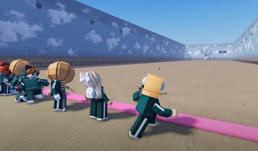 Игра в кальмара в Роблокс