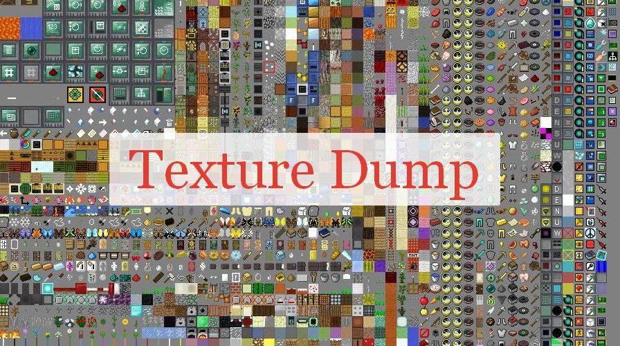 Texture Dump поиск тяжелых текстур
