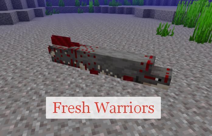 Fresh Warriors новая рыба и другие подводные обитатели